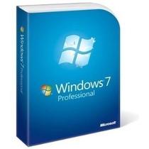 Windows 7 Professional 32/64 Bits - Original ® Fpp 3 Pcs