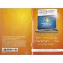 Volume Windows 7 Professional Integrador 64bits Português