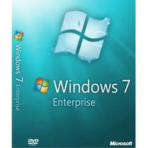 Windows 7 Enterprise - Ativação Online - Vitalício - Fpp