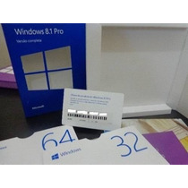Cartão Key Windows 8.1 Professional 32/64 Bits Fpp
