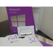 Cartão Key Windows 8.1 32/64 Bits Fpp