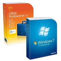 Windows 7 Pro + Office Pro Plus 2010 + Nfe - Pode Formatar