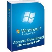 Windows 7 Pro + Chave Original Vitálicio Fpp - Product Key
