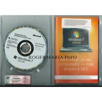 Windows 7 Ultimate Microsoft 64bits Português