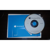 Windows 8 Pro 64 Bits Mídia Original + Chave Original