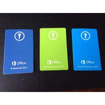 Microsoft Office Professional 2013 Cartão Key S/midia