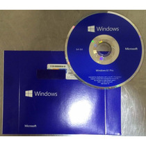 Windows 8.1 Pro C\ Dvd Original E Selo Holográfico C\ Serial