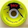 Rodas Longboard Face Skate Dalua Amarela 72mm 82a Downhill