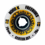Rodas Longboard Nordik Freeride Center Set 70mm 78a
