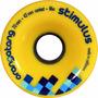 Rodas Orangatong Stimulus 70mm 86a Longboard Dohwhill Slide