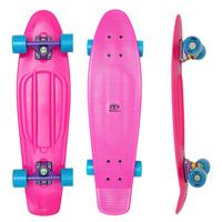 Skate Cruiser Mini Longboard Penny Retrô Surf Capacete Boné