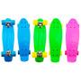 Skate Cruiser Mini Longboard Penny Retrô Abec 7