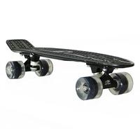 Skate Cruiser Mini Longboard Penny Retrô Mormaii - Preto