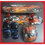 Skate Infantil Carros Speedwheels Completo +kit Proteção
