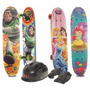 Kit Mini Skate Disney Capacete Joelheira Masculino Feminino