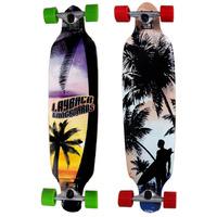 Longboard Skate Abec 9 Esporte Radical Importado Shape Rodas