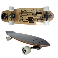 Skate Longboard Carver Mormaii Simulador Surf