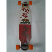 Skate Longboard 97cm Invertido 180mm Rodas Sativa Abec 15 !