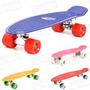 Skate Mini Long Longboard Venice Abec 7 Rodas 22 Pol Retro