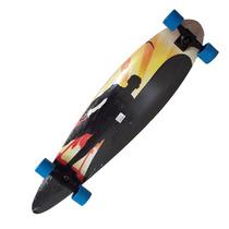 Long Board Skate Abec Rolamento Shape Rodas Surf Radica