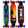Skate Long Board Pro Até 100kg Rodas 70mm 80a Já Vai Montado