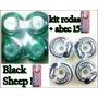 Kit Rodinhas Skate + Abec 15 Black Sheep 100% Original.