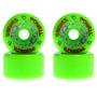 Roda G-bones Powel Peralta Verde 64mm 97a - Frete Grátis