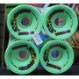 Roda Longboard Seismic Hot Spot 76mm