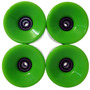 Roda Skate Kit 4 Longboard 80mm Rolamento Abec 11 Silicone