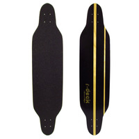 Shape Skate Longboard Freeride Com Lixa - R-deck