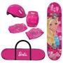 Skate Barbie Com Acessorios - Barão Toys