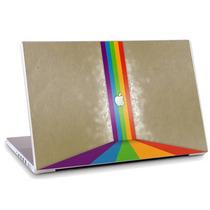 Skin Adesivo Notebook Logomarca Apple Cores Skdi2989