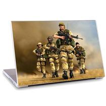 Skin Adesivo Notebook Jogo Game Arma Guerra Soldado Skdi0009