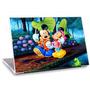 Skin Adesivo Notebook Paisagem Desenho Mickey Minie Skdi0275