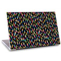 Skin Adesivo Notebook Textura Pingente Caveira Cor Skdi2642