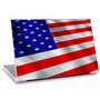 Skin Adesivo Notebook Bandeira Estados Unidos Skdi4049