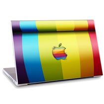 Skin Adesivo Notebook Logo Marca Aplle Cores Skdi2505