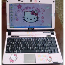 Acer One Hello Kitty Skin Para Netbook 10 Polegadas