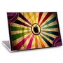 Skin Adesivo Notebook Logomarca Apple Textura Cores Skdi3200