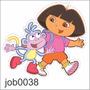 Adesivo Decorativo Dora Aventureira Botas Meninas Job0038