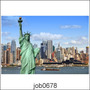 Adesivo De Parede New York City Estatua Da Liberdade Job0678