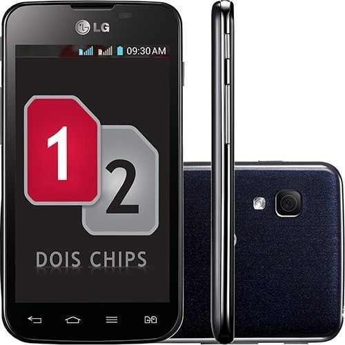 Smartphone Lg Optimus L5 Dual E455f Desbloqueado Preto Novo