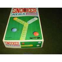 Snooker - Atma - Brinquedo Antigo - Anos 70