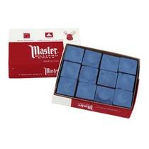 Giz Importado Para Sinuca - Marca Master (caixa Com 12)