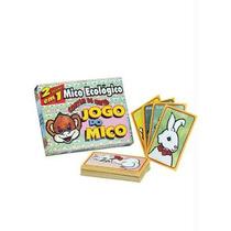 Jogo Da Memória E Mico 2 Em 1 - Mico Ecológico 32 Cartas
