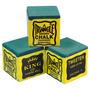 Giz Triangle Verde 3 Peças Para Taco De Bilhar Sinuca 10612