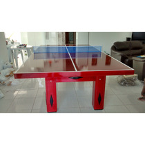 Tampo 2 Em 1 Ping Pong E Jantar Pra Mesa De Bilhar