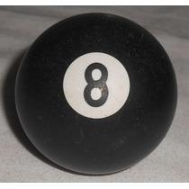 Bola 8 Eightball Antiga Usada 17cm Circunfer 50mm Paquímetro