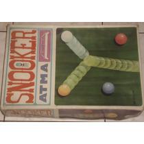 Jogo Snoocker - Brinquedos Atma - Anos 70