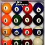 Bola Bilhar Profissional Numerada (15 Bolas) + Bola Branca